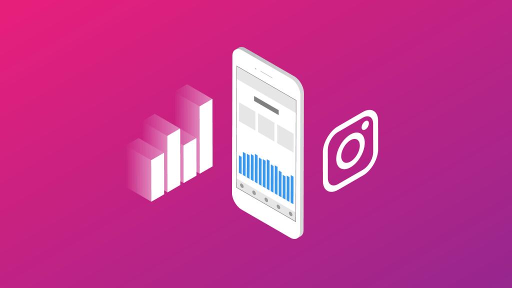 Imagem de um infográfico, um celular e a logo do instagram, para o artigo 5 dicas para lotar sua agenda usando o Instagram