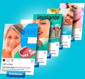 Posts para Dentistas de alto impacto no Instagram e Facebook